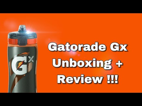 Gatorade GX UNBOXING + REVIEW !!! |#GatoradeGx