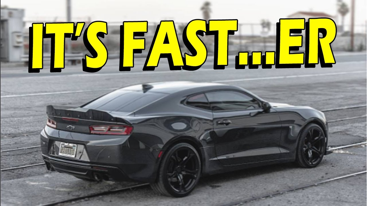 6th Gen Camaro 2LT Tuned with E85 and Dynoed! - YouTube