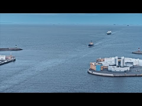 International Freight Ship at Sea | Stock Footage - Videohive