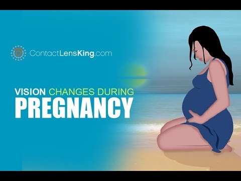 Vision Changes During Pregnancy | Dry Eyes and Blurred Vision
