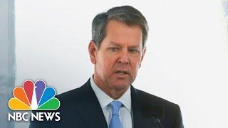 Georgia Gov. Kemp Gives Updates On The Coronavirus | NBC News (Live Stream Recording)