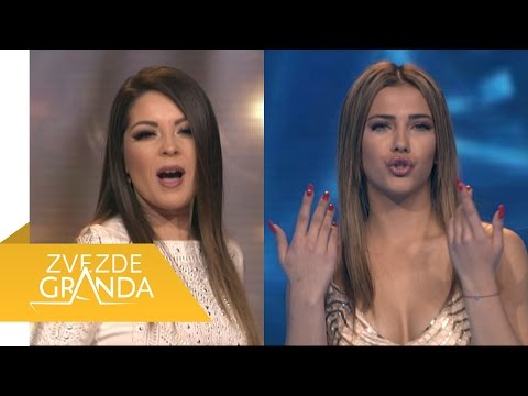 Dejana Eric Vs Maryana Katic - Grand duel - ZG Specijal 13 - (TV Prva 18.12.2016.)