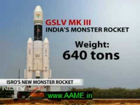 GSLV Mk. III - India's heavy-lift Space launch vehicle [NDTV Report]