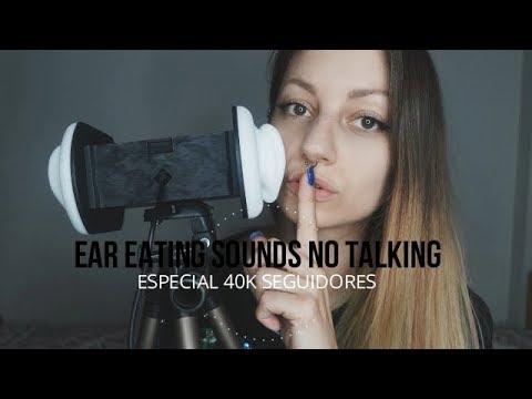 ASMR Ear Eating Sounds #3 NO TALKING / ESPECIAL 40K - NADIRA ASMR