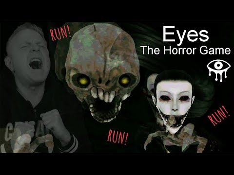 THERE'S 2 OF THEM HUNTING ME NOW | EYES THE HORROR GAME - DOUBLE TROUBLE MODE
