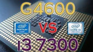 g4600 vs i3 7300 benchmarks gaming tests review and comparison kaby lake vs kaby lake