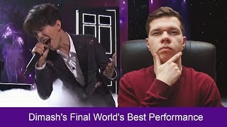 REACTS to Dimash's Final World's Best Performance - The World's Best Championships( ENG SUB)