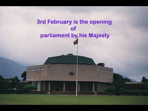 3rd February is the opening of parliament by his Majesty