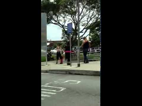Fight in Jurong East, Singapore