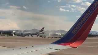 Fire Plane British Airways #2276 - Las vegas