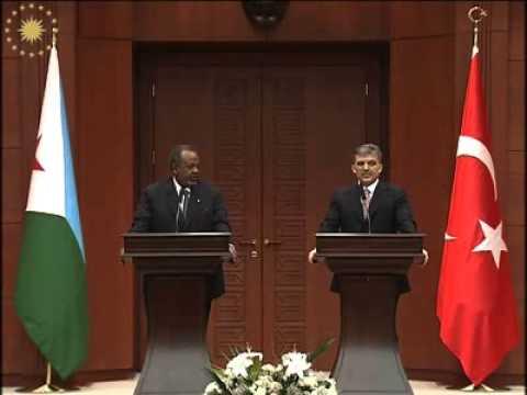 The President of Republic of Djibouti, H E Ismaïl Omar Guelleh's visit to           Turkey