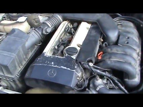 Mercedes-Benz W124 E320 Coupe Троит из-за дефекта проводки)