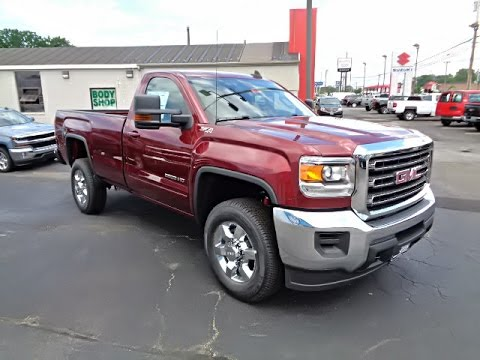 NEW 2016 GMC SIERRA 2500HD REGULAR CAB LONG BOX 4-WHEEL ...
