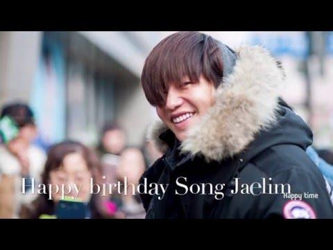 Song jae lim(Songjaerim,) Happy Birthday Video