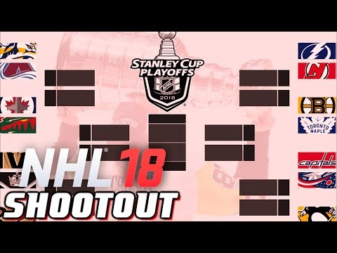PLAYOFF PREDICTIONS - NHL 18 - Shootout Commentary ep. 6