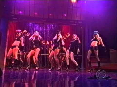 Pussycat Dolls @ Letterman show (Carmen Electra).