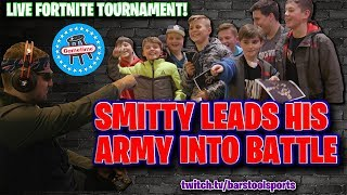 Smitty Leads His Army Of Small Soldiers Into Battle At A Live Fortnite Event