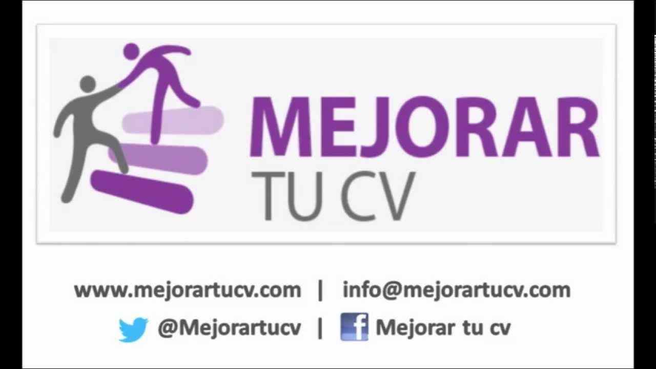 1. MejorartuCV.com para mejorar tu currículum y conseguir empleo ...