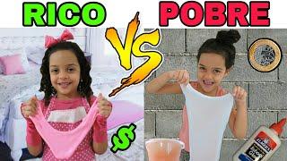 RICO VS POBRE FAZENDO SLIME