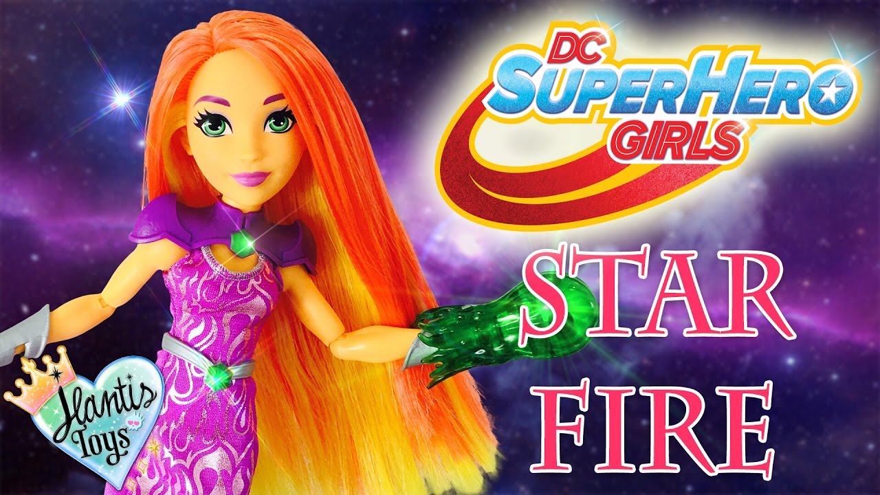 STARFIRE DC SUPER HERO GIRLS DOLL REVIEW | TEEN TITANS