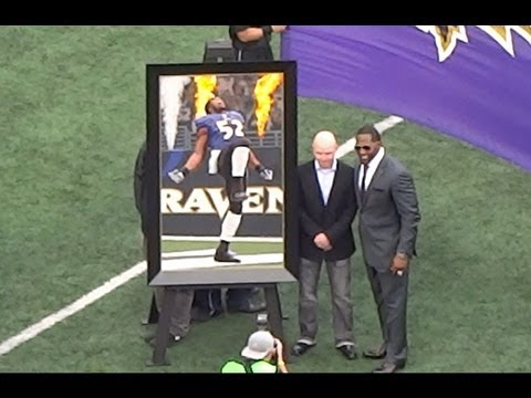 Ray Lewis Ring of Honor Ceremony