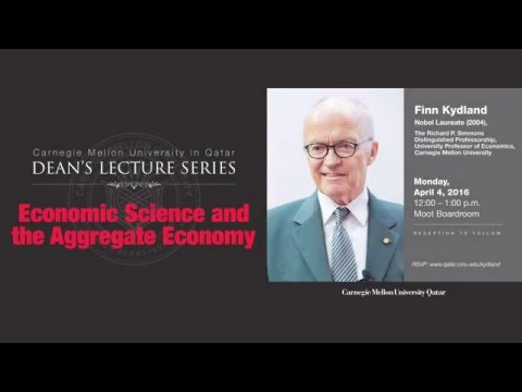 Finn Kydland, Economic Sciences and the Aggregate Economy