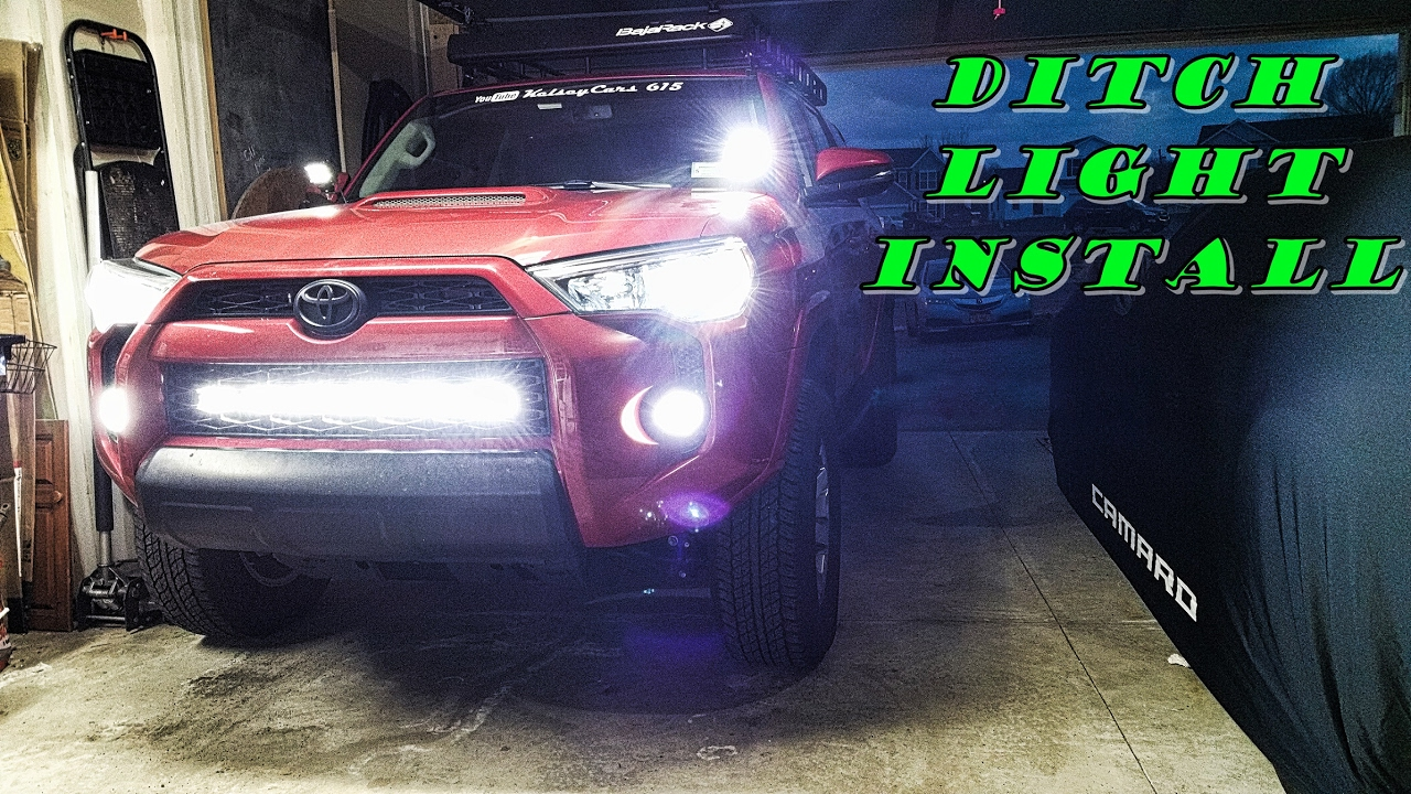 Gen5 4runner Ditch Light Install