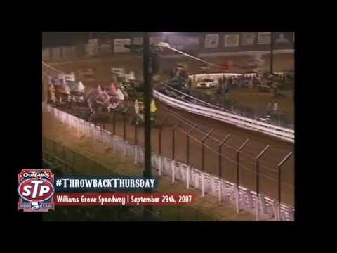 #ThrowbackThursday: World of Outlaws Sprint Cars Williams Grove Speedway September 29th, 2007