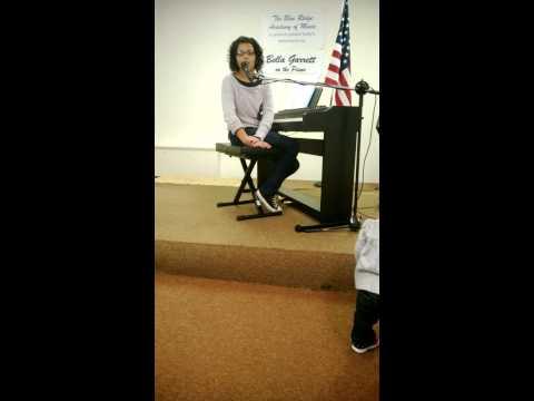 Bella Garrett Recital Blue Ridge Academy of Music 01 19 2014