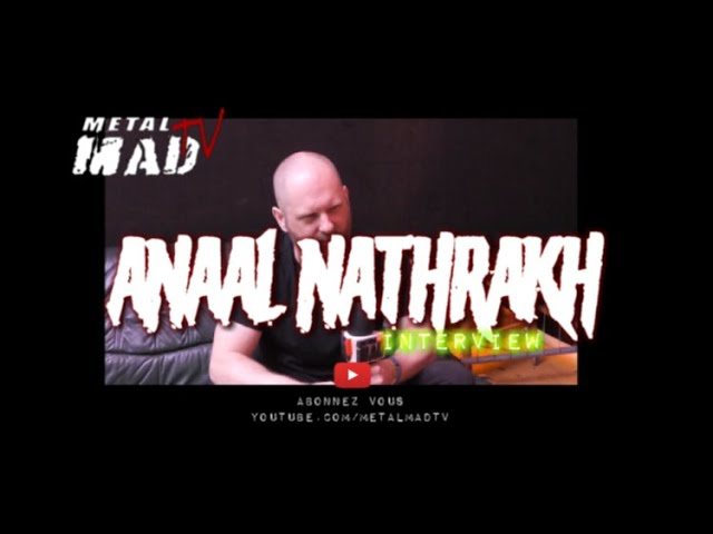 Interview Anaal Nathrakh au  Motocultor
