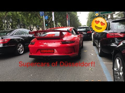 Supercars of Düsseldorf|Summer 2017| Ford GT, New GT3, Modball Aventador, Prior Design…