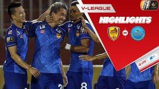 Highlights | Quảng Nam FC - Sanna Khánh Hòa BVN | Thắng lợi tưng bừng trên sân nhà | VPF Media