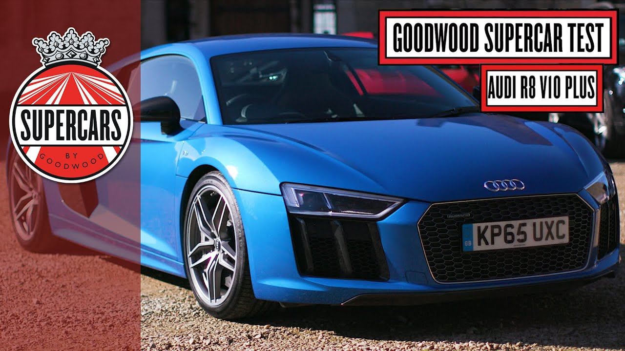 Audi Plus Ben Collins Goodwood Supercar Test Youtube