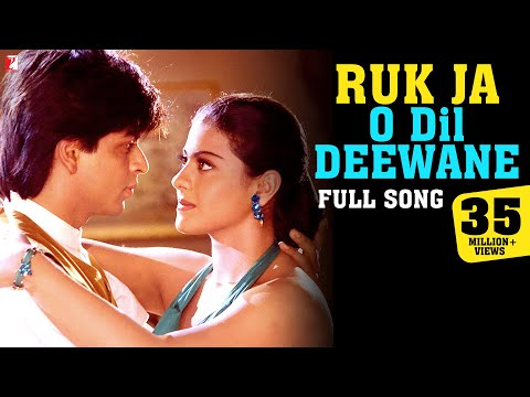 Ruk Ja O Dil Deewane - Full Song | Dilwale Dulhania Le Jayenge |Shah Rukh Khan, Kajol| Udit Narayan