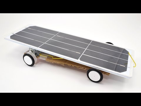 Build a Solar-Powered Car for the Junior Solar Sprint