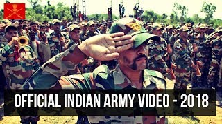 Official indian army video 2017 - must watch