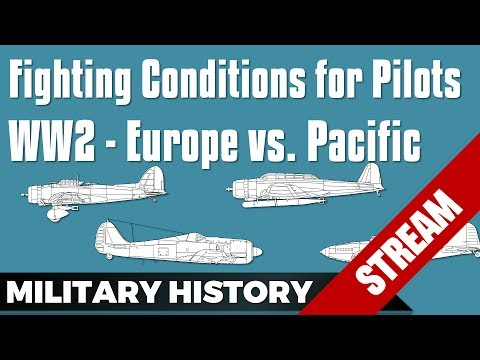 Fighting Conditions Pilots WW2 Europe vs Pacific with Bismarck (Live Stream)
