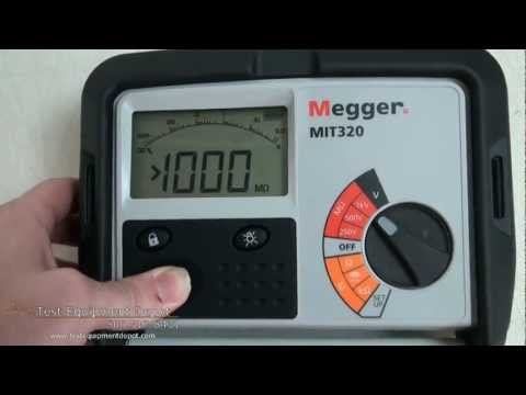 Megger MIT230 Digital/Analog Insulation And Continuity Tester