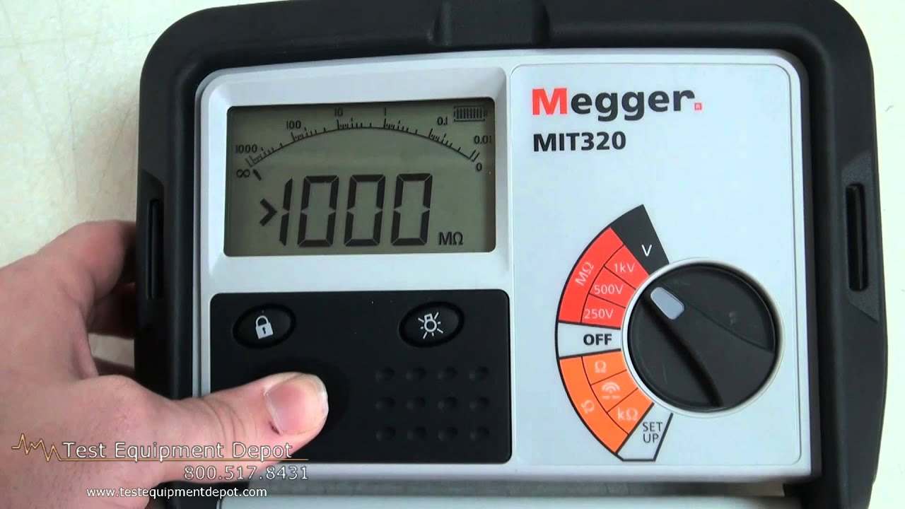 Megger Mit230 Digital Analog Insulation And Continuity
