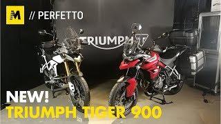 Triumph Tiger 900 Rally e GT 2020: all new! [English sub.]