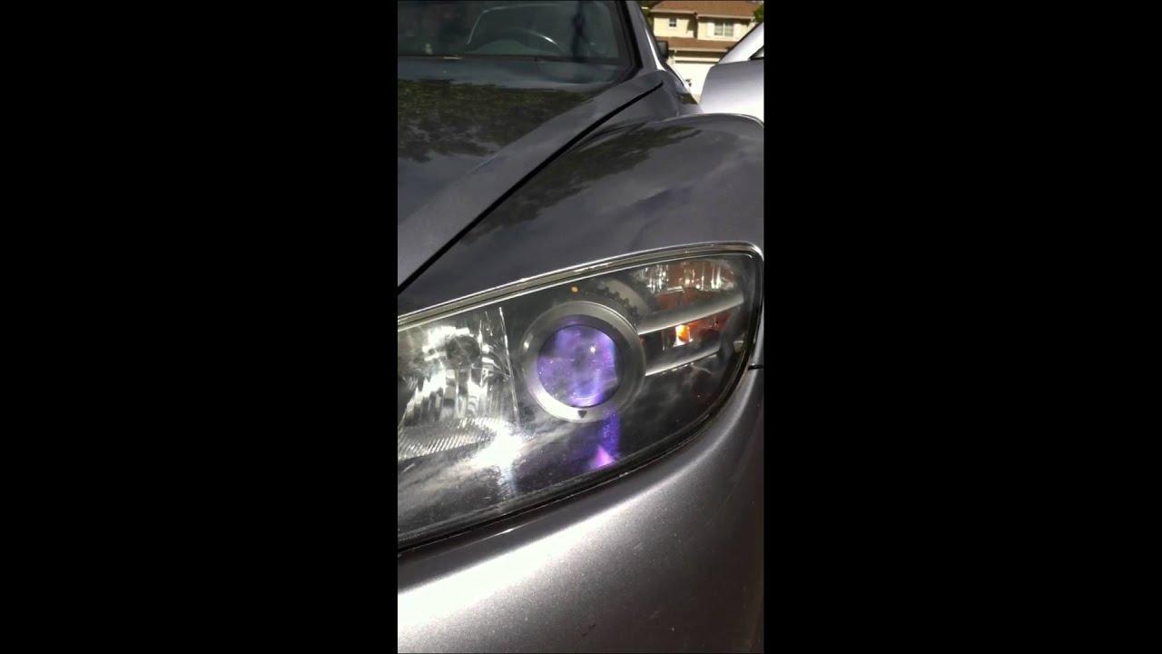 rx8 headlight bulbs youtube