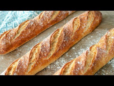 Как испечь французский багет