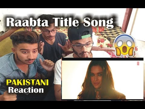 Pakistani React on Raabta Title song