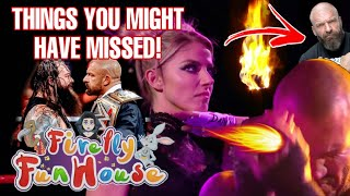 THINGS YOU MIGHT HAVE MISSED! Alexa Bliss RETURNS! Fireball! Orton haunted by The Fiend? WWE Raw