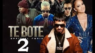 Gambar cover Anuel AA Confirma Te Bote 2 Remix  Ft Jennifer Lopez JLO | ¿ Bad Bunny ?