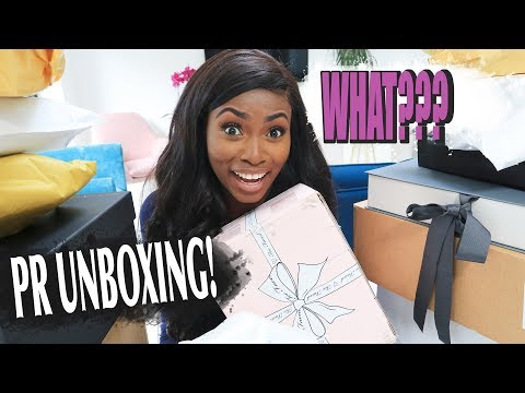 HERE WE GO AGAIN! EPIC PR UNBOXING- WHAT FREE STUFF HAS BEEN SENT TO ME TODAY????