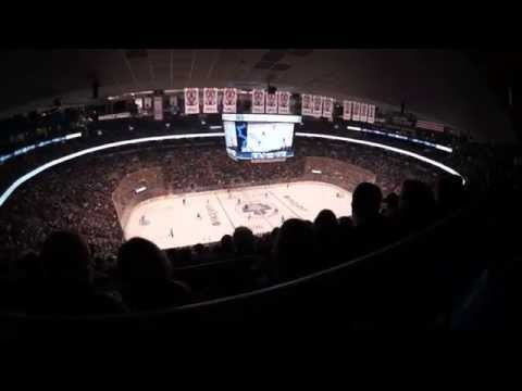 2015 Toronto Meaple Leafs vs. Ottawa Senators on ice!