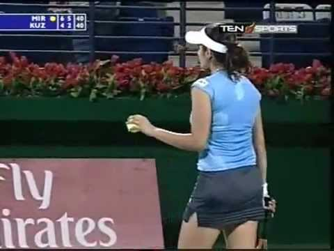 Sania Mirza's First Ever Biggest Win Part - 5 (Final Part)