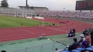 2013東日本実業団陸上 男子10000m決勝 (1組目)秋葉啓太選手登場
