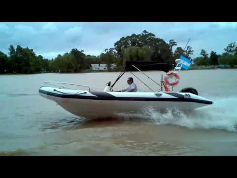 Semirrigidos MOON 630 Patagon y Heavy Dutty ribs motonautica Turismo Offshore Expediciones Militar